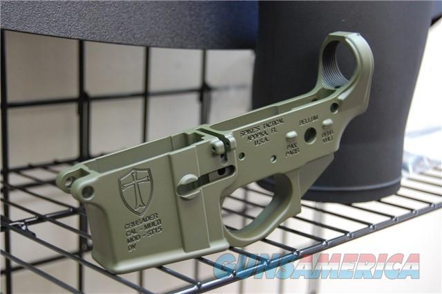 Spikes Tactical Crusader X-Werks OD Olive Drab  Guns > Rifles > Spikes Tactical Rifles