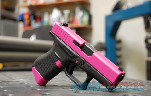 X-Werks Glock 43 9mm Rasberry Pink Slide & Parts  Guns > Pistols > Glock Pistols > 43