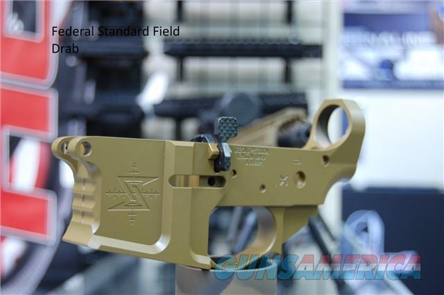 X-Werks Seekins Precision SBA15 Lower Federal Standard Field Drab  Guns > Rifles > S Misc Rifles