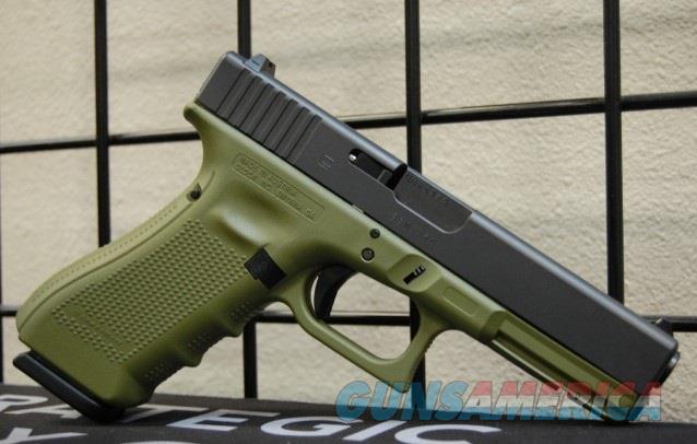 X-Werks Glock 17 Gen 4 Noveske Green 9 G4  Guns > Pistols > Glock Pistols > 17