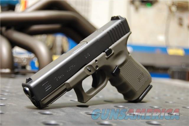 Glock 19 Gen 4 MOS X-Werks Magpul OD Green FS  Guns > Pistols > Glock Pistols > 19
