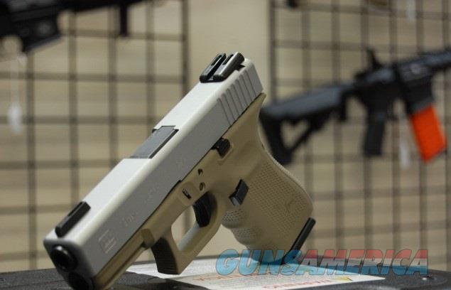 X-Werks Glock 19 Gen 4 Magpul FDE Sat Mag w/TFO NS  Guns > Pistols > Glock Pistols > 19