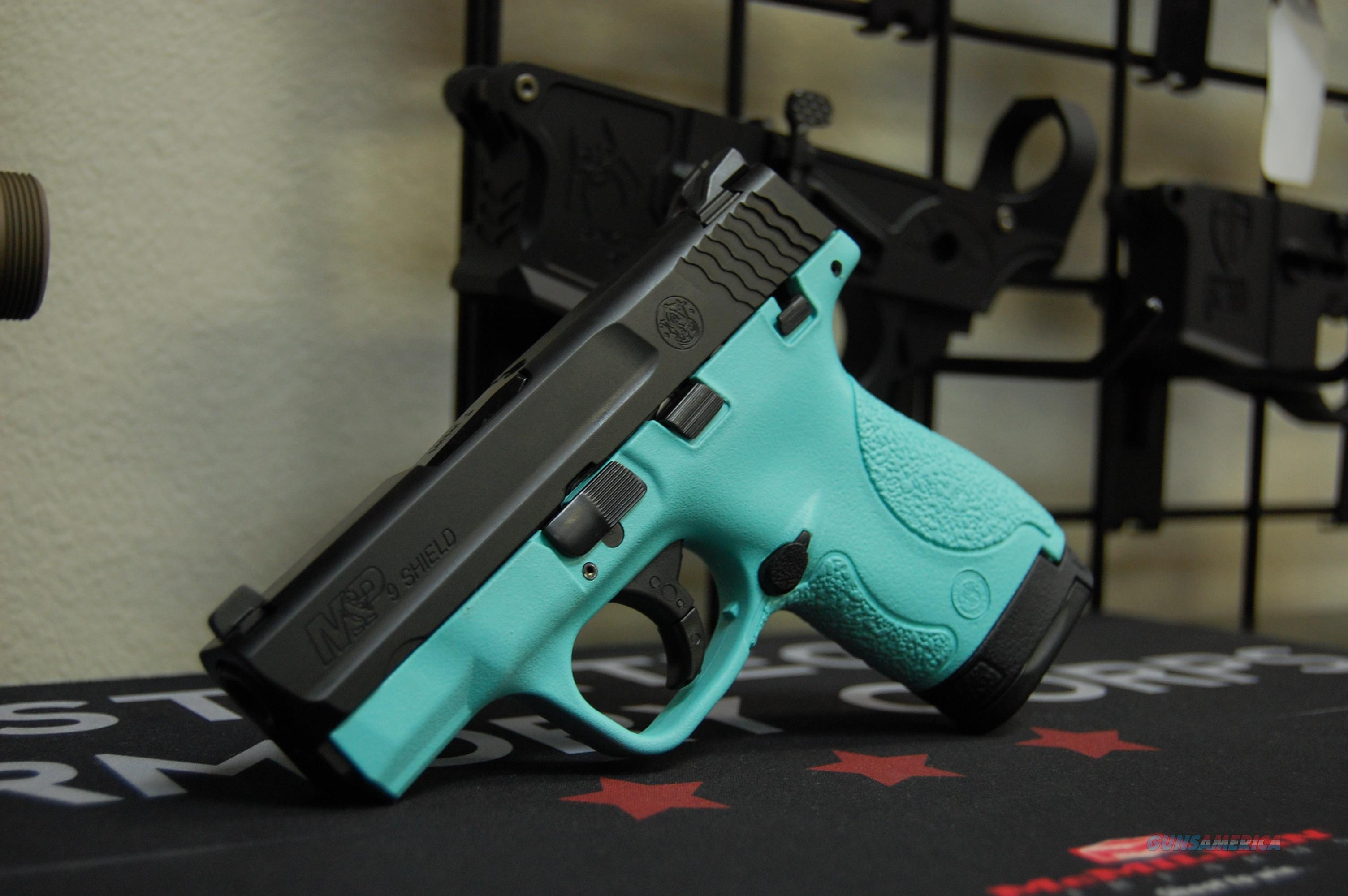 X-Werks Smith & Wesson M&P Shield 9 T. Blue  Guns > Pistols > Smith & Wesson Pistols - Autos > Shield