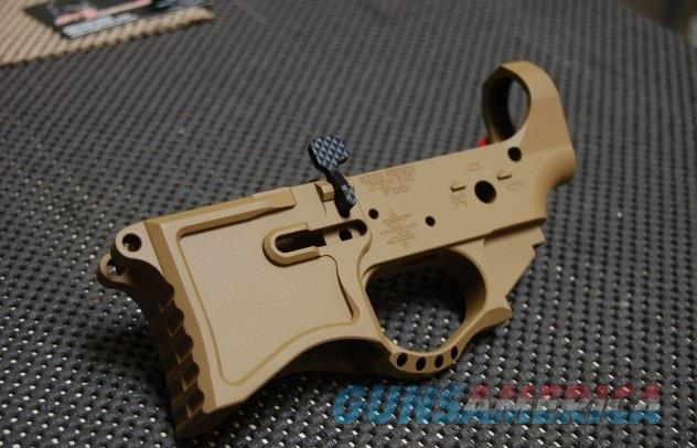X-Werks Seekins Precision SP223 Billet Lower Troy Coyote Tan  Guns > Rifles > S Misc Rifles