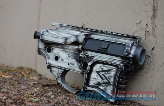X-Werks FU Distressed Seekins SP223 Billet Rec Set  Guns > Rifles > S Misc Rifles