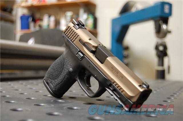 X-Werks S&W M&P 2.0 Compact 9 Burnt Bronze Slide  Guns > Pistols > Smith & Wesson Pistols - Autos > Polymer Frame