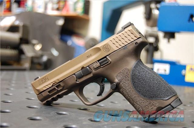 X-Werks S&W M&P 2.0 Compact 9mm Burnt Bronze Mi... For Sale