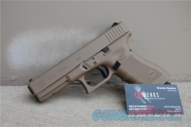 X-Werks Glock 17 Gen 4 Magpul FDE 9mm  Guns > Pistols > Glock Pistols > 17