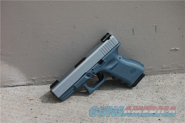 X-Werks Glock 19 9 Blue Titanium Satin Mag TFX NS  Guns > Pistols > Glock Pistols > 19