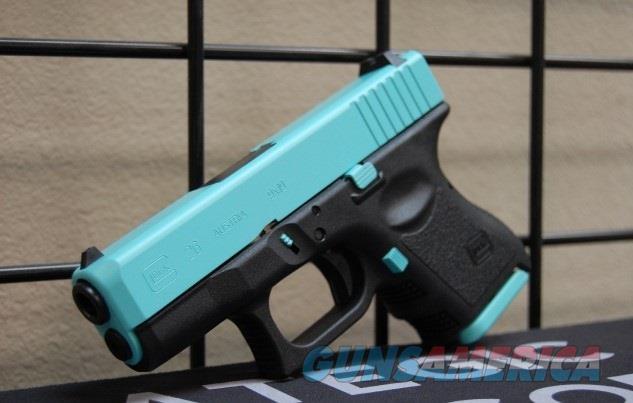 X-Werks Glock 26 Gen 3 robin's egg blue Slide parts  Guns > Pistols > Glock Pistols > 26/27