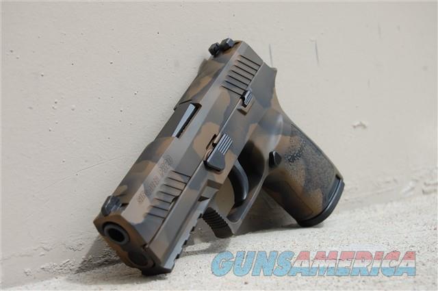 X-Werks EVL Camo Sig Sauer P320 C 9 w/Night sights  Guns > Pistols > Sig - Sauer/Sigarms Pistols > P320