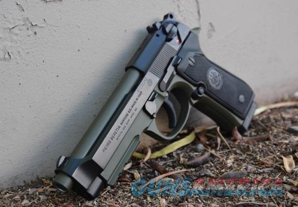 X-Werks Beretta 92A1 9mm Olive Drab OD No CC Fee  Guns > Pistols > Beretta Pistols > Model 92 Series