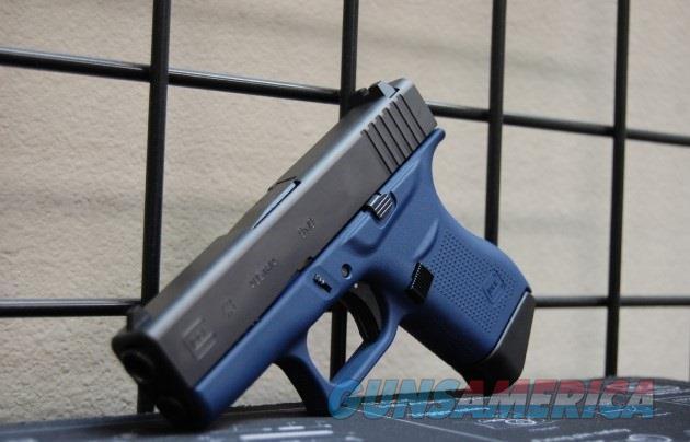 X-Werks Glock 43 9mm Keltec Blue Frame FS  Guns > Pistols > Glock Pistols > 43