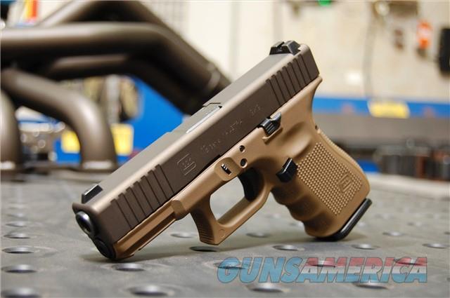 X-Werks Glock 19 Gen 4 Steel FDE & Midnight Bronze  Guns > Pistols > Glock Pistols > 19