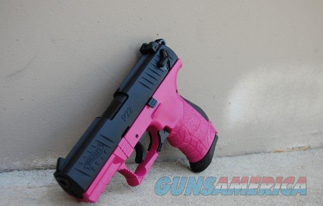 X-Werks Walther P22 .22lr Rasberry Pink  Guns > Pistols > Walther Pistols > Post WWII > P22