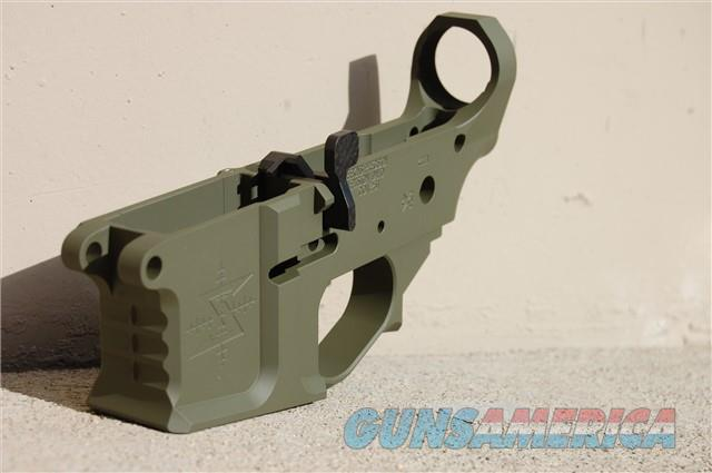 X-Werks Seekins Precision SBA15 Billet Lower OD  Guns > Rifles > S Misc Rifles