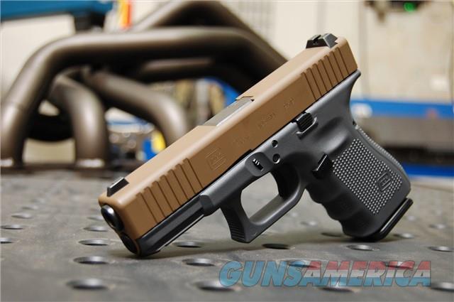 X-Werks Glock 19 Gen 4 Steel FDE & Glock Grey  Guns > Pistols > Glock Pistols > 19