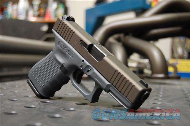 X-Werks Glock 19 Gen 4 Steel Grey Midnight Bronze  Guns > Pistols > Glock Pistols > 19