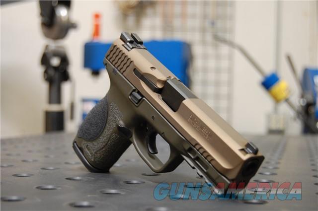 X-Werks S&W M&P 2.0 Compact 9 Burnt Bronze Magpul OD  Guns > Pistols > Smith & Wesson Pistols - Autos > Polymer Frame