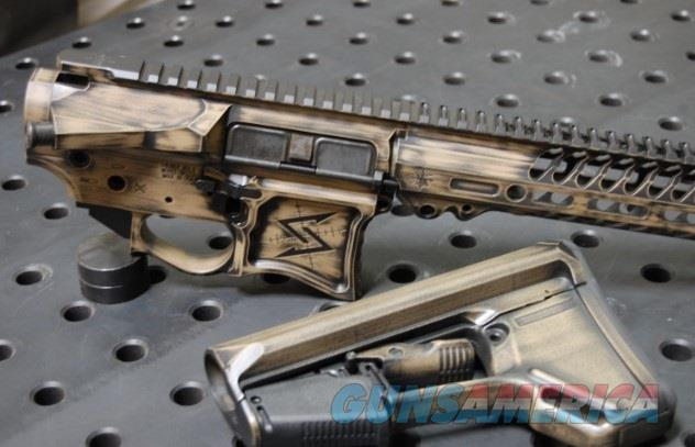 X-Werks Seekins Distressed FU Coyote SP223 NOX Receiver Set w/Nox Rail and Magpul Stock  Guns > Rifles > S Misc Rifles