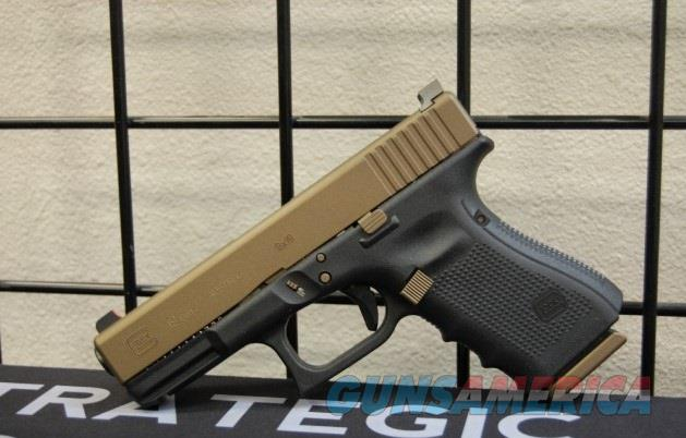 Glock 19 Gen 4 NS X-Werks Burnt Bronze Slide & Parts  Guns > Pistols > Glock Pistols > 19