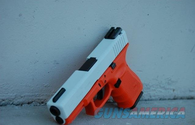 X-Werks Glock 19 Gen 4 White Orange 9mm  Guns > Pistols > Glock Pistols > 19
