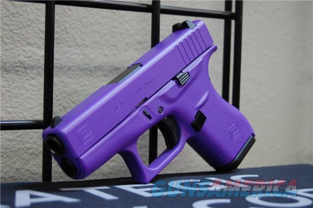 X-Werks Glock 42 .380acp Purple frame & Slide  Guns > Pistols > Glock Pistols > 42
