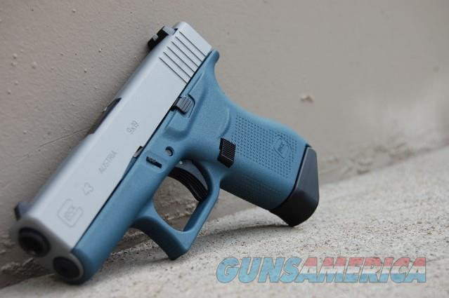 X-Werks Glock 43 9mm Blue Titanium Sat Mag  Guns > Pistols > Glock Pistols > 43