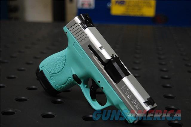 Smith & Wesson Shield 9 X-Werks T. blue Sat Aluminum  Guns > Pistols > Smith & Wesson Pistols - Autos > Shield