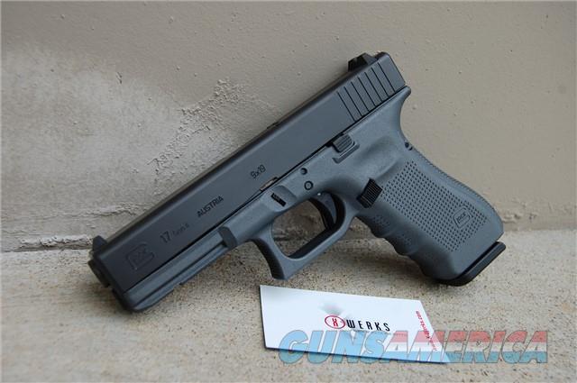 X-Werks Glock 17 Gen 4 9mm Blue Titanium  Guns > Pistols > Glock Pistols > 19