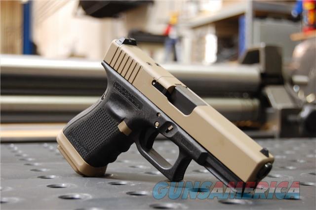 X-Werks Glock 19 Gen 4 MOS Agency Coyote Tan FS  Guns > Pistols > Glock Pistols > 19
