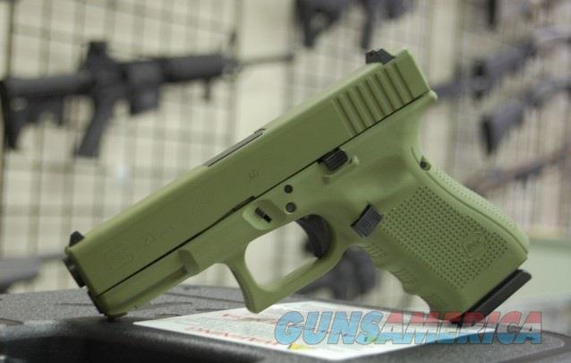 X-Werks Glock 23 Gen 4 .40 Noveske Green  Guns > Pistols > Glock Pistols > 23