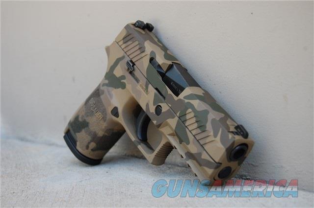 X-Werks Multi Cam Sig Sauer P320C 9 w/NS P320  Guns > Pistols > Sig - Sauer/Sigarms Pistols > P320
