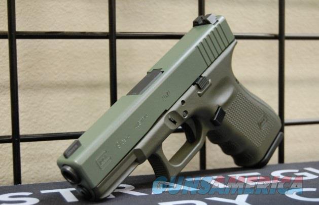 X-Werks Glock 19 Gen 4 Trij NS Magpul OD Foliage  Guns > Pistols > Glock Pistols > 19