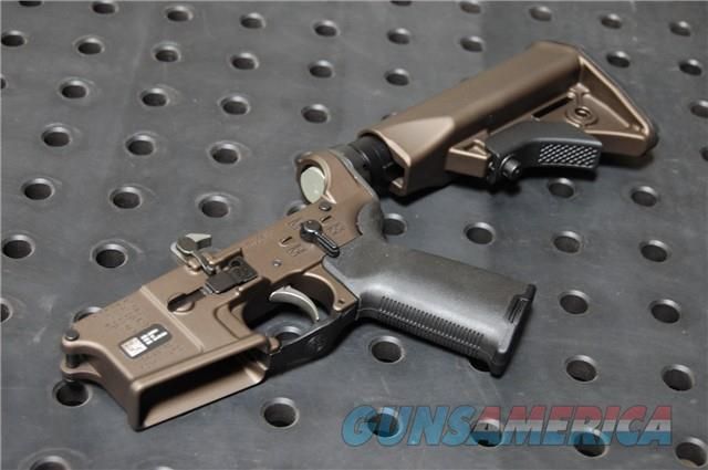 LWRC M6IC Complete Lower M6 Midnight Bronze X-Werks DI  Guns > Rifles > LWRC Rifles
