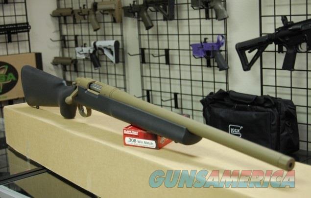 X-Werks Remington 700 5R Armor Black FDE 20 308 TB  Guns > Rifles > Remington Rifles - Modern > Model 700 > Sporting
