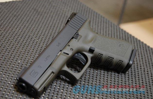 X-Werks Glock 19 9mm Magpul OD with TFO NS  Guns > Pistols > Glock Pistols > 19