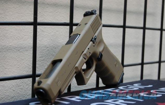 Glock 34 Gen 4 MOS 9mm X-Werks Glock FDE  Guns > Pistols > Glock Pistols > 34