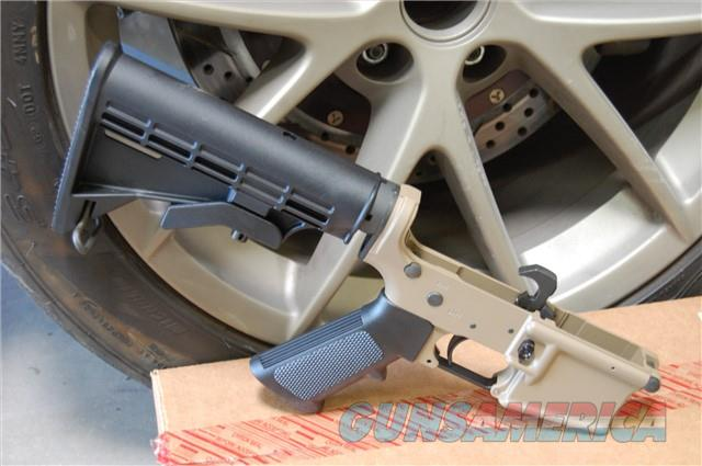 X-Werks Magpul FDE DPMS AP4 Complete Lower AR15  Guns > Rifles > DPMS - Panther Arms > Lower Only