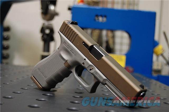 Glock 17 Gen 4 X-Werks Burnt Bronze Titanium G4  Guns > Pistols > Glock Pistols > 19