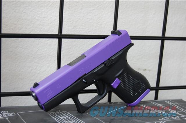 X-Werks Glock 42 Purple Slide & Parts .380acp  Guns > Pistols > Glock Pistols > 42