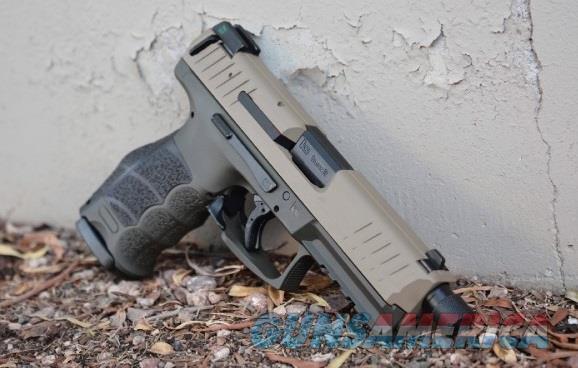 X-Werks HK Heckler Koch VP9 Tactical Magpul FDE OD  Guns > Pistols > Heckler & Koch Pistols > Polymer Frame