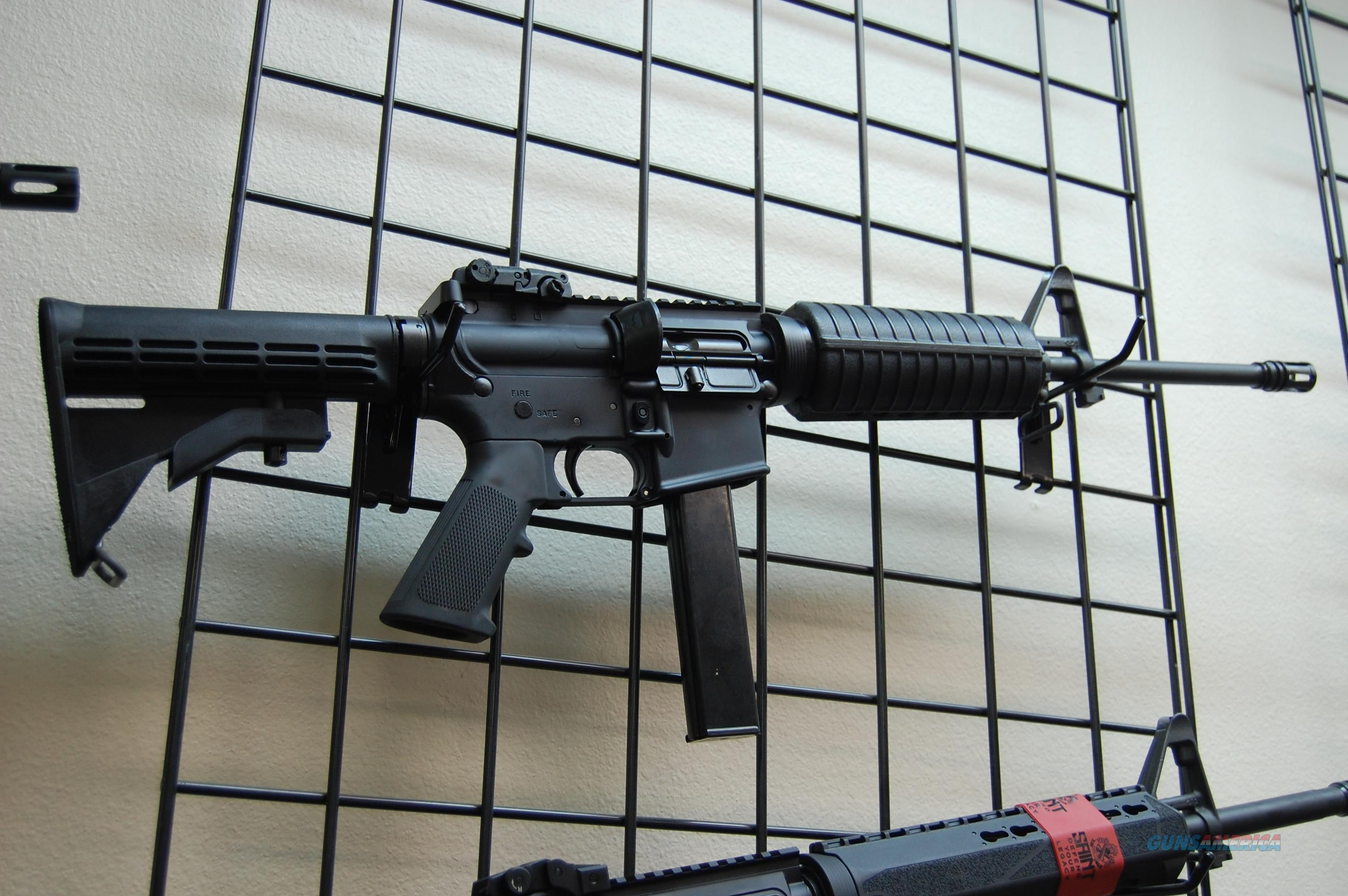COLT AR6951 AR-15 CAR 9MM 16 32R MT AR15  Guns > Rifles > Colt Military/Tactical Rifles