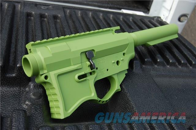 X-Werks Zombie Green Seekins G2 Billet SP223 Set  Guns > Rifles > S Misc Rifles