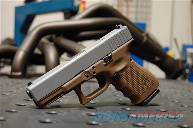 X-Werks Glock 19 Gen 4 MOS Ghost Gray Glock FDE  Guns > Pistols > Glock Pistols > 19