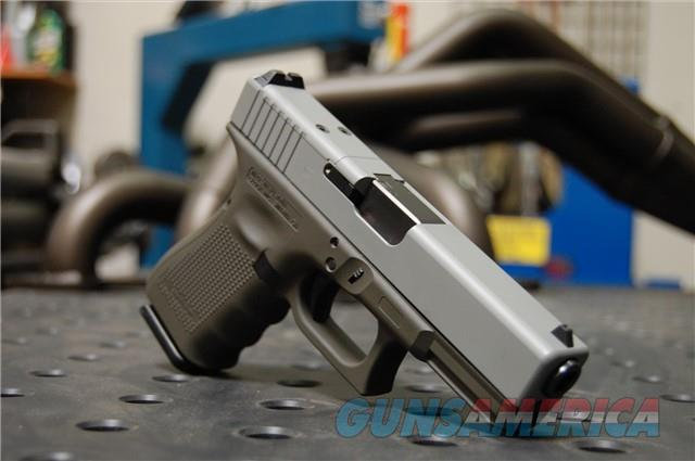 X-Werks Glock 19 Gen 4 MOS Ghost Gray Magpul OD  Guns > Pistols > Glock Pistols > 19