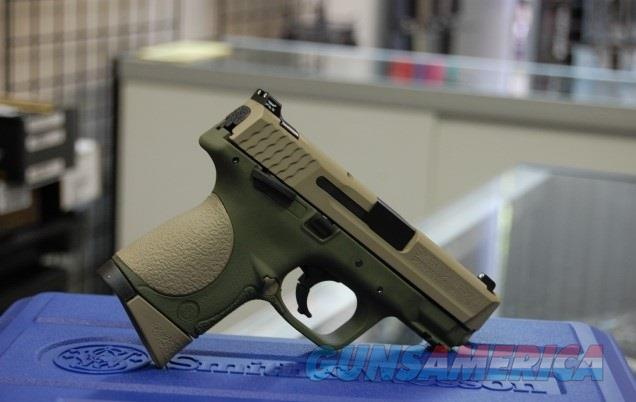Smith & Wesson M&P9 C Compact X-Werks FDE OD NS  Guns > Pistols > Smith & Wesson Pistols - Autos > Polymer Frame