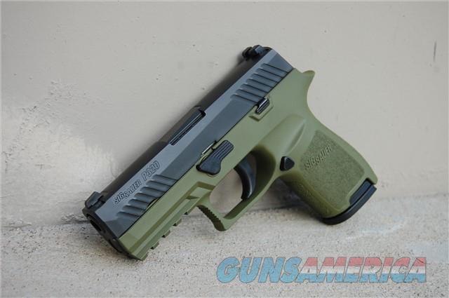 X-Werks Sig Sauer P320 C Noveske Green 320C-9-B  Guns > Pistols > Sig - Sauer/Sigarms Pistols > P320