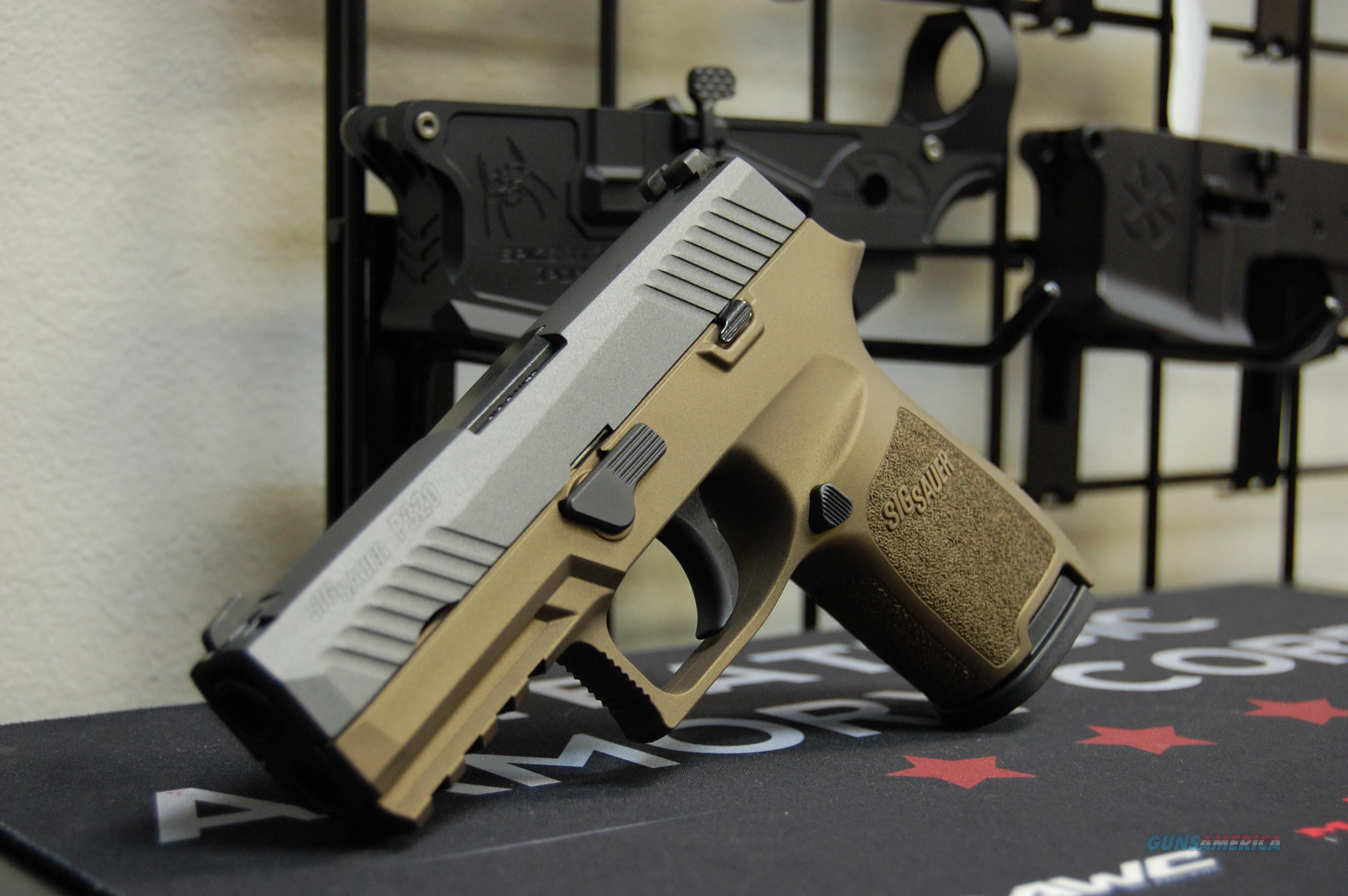 X-Werks Sig Sauer P320C 9 w/NS Burnt Bronze, Tungsten  Guns > Pistols > Sig - Sauer/Sigarms Pistols > P320