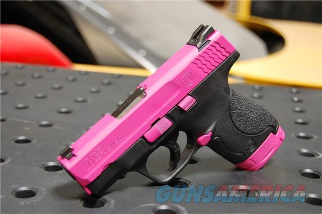 Smith Wesson M&P Shield 9mm X-Werks Rasberry Pink  Guns > Pistols > Smith & Wesson Pistols - Autos > Shield